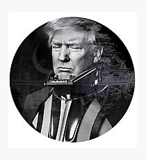 Darth Donald Trump | Dark Lord of the Galactic Empire of America Photographic Print