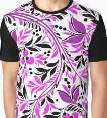 Purple Natural Graphic T-Shirt