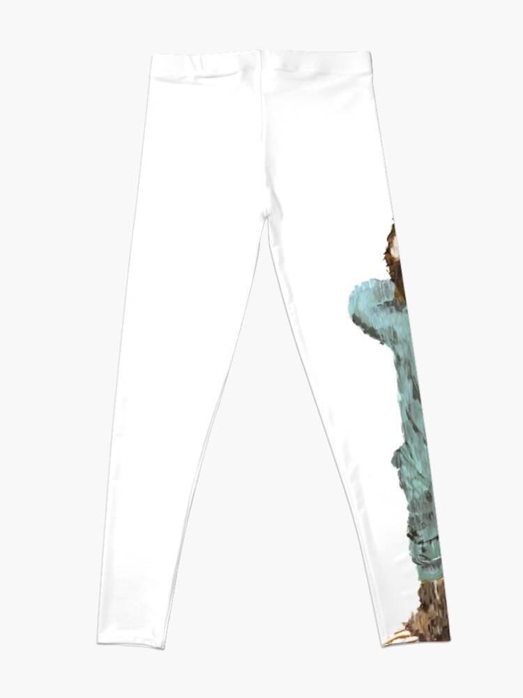 Alternate view of Baby Sloth in Onesie Pajamas Leggings