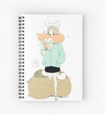 winter flock. Spiral Notebook