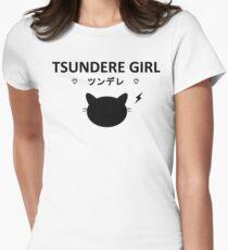 ♥ Tsun Catdere ♥ Womens Fitted T-Shirt