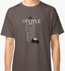 Foyle's War Typography Classic T-Shirt