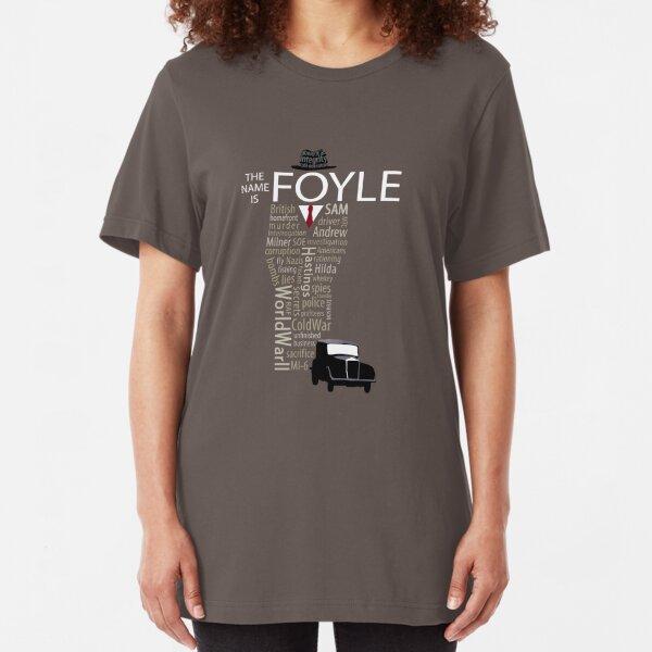 Foyle's War Typography Slim Fit T-Shirt