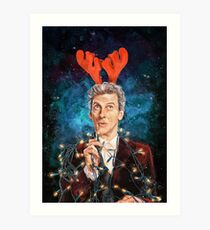 Twelve Days of Christmas Art Print