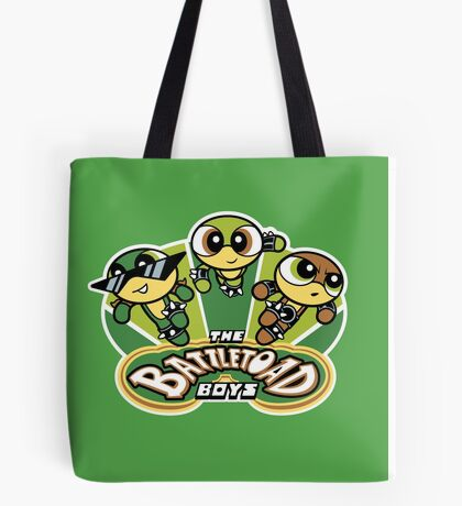 The Battletoad Boys Tote Bag