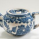 Willow Pattern Teapot by Skye Hohmann