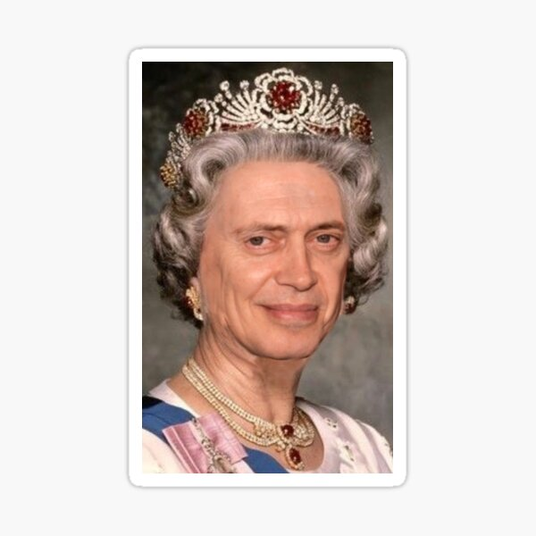 Queen Buscemi Sticker