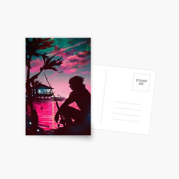 [Final Fantasy] Galdin Quay Sunset Postcard