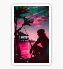 [Final Fantasy] Galdin Quay Sunset Sticker