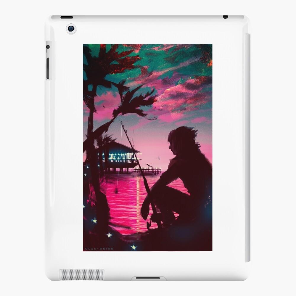 [Final Fantasy] Sunset Quay Galdin Funda y vinilo para iPad
