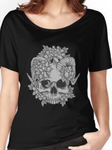 Japanese Skull Women's Relaxed Fit T-Shirt