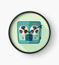 Reel to Reel Tape Recorder Clock