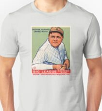 Babe Ruth Baseball Card Graphic Unisex T-Shirt