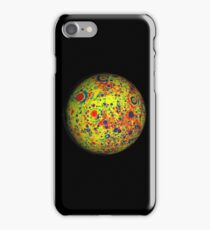 MOON, GRAVITY, GRAIL, Gravity map, Moon, Lunar, Space iPhone Case/Skin