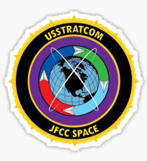 Joint Functional Component Command for Space Logo Sticker