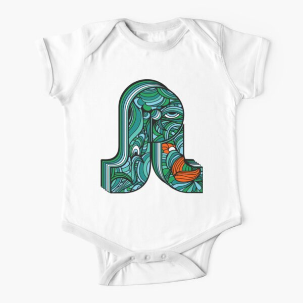 PL Pretty Lights Music Logo 2 Short Sleeve Baby One-Piece