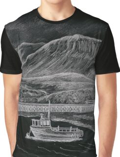 cader Idris & Barmouth harbour Graphic T-Shirt