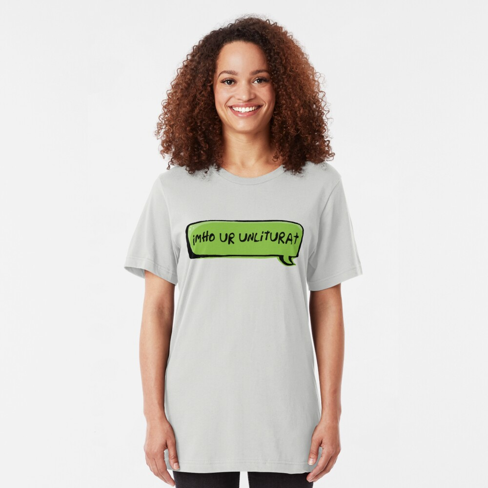 Texting Generation Slim Fit T-Shirt