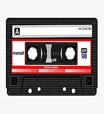 Music Cassette Tape Photographic Print