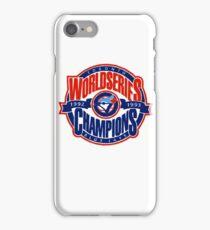 Toronto Blue Jays World Series iPhone Case/Skin