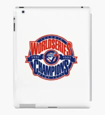 Toronto Blue Jays World Series iPad Case/Skin