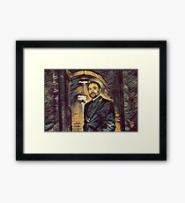 Mr. Crowley Framed Print