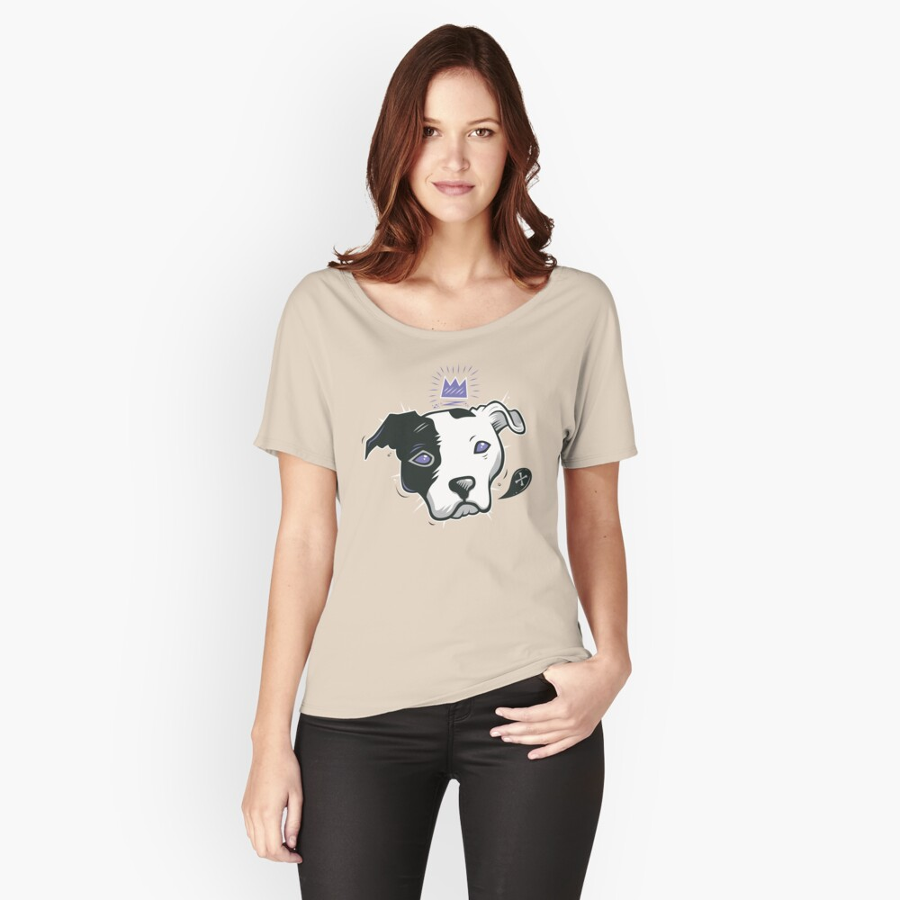 Pitbull King Women's Relaxed Fit T-Shirt Front