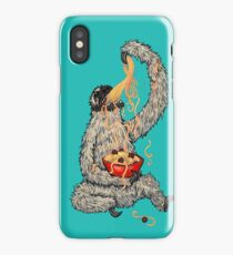 A Sloth Eating Spaghetti iPhone Case