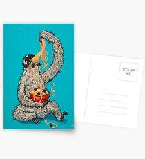 A Sloth Eating Spaghetti Postcards
