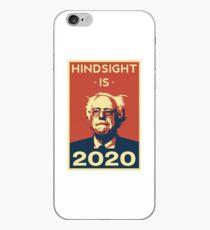 Bernie Sanders Hindsight is 2020 iPhone Case