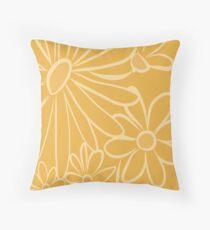 Daisy-Daisy, Yellow Daisy Throw Pillow