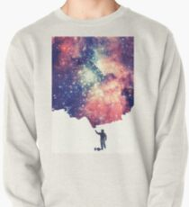 Painting the universe (Colorful Negative Space Art) Pullover