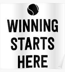 Tennis. Winning starts here Poster