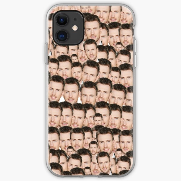 Oh my Chris! iPhone Soft Case
