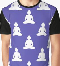 Buddha seamless pattern Graphic T-Shirt