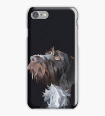 German Wire Haired Pointer  iPhone Case/Skin