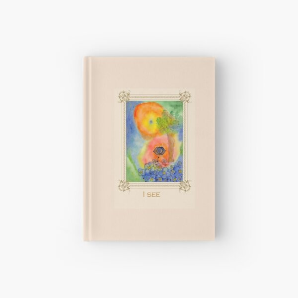 I see - Tree affirmation card Hardcover Journal