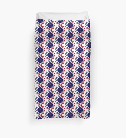 Indiana Murican Patriot Flag Series Duvet Cover