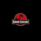 Jurassic Chocobo by etosensei