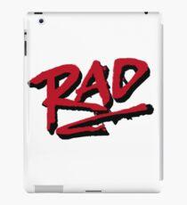 RAD 1980 BMX MOVIE iPad Case/Skin