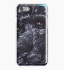 Labradoodle Dog Art iPhone Case/Skin