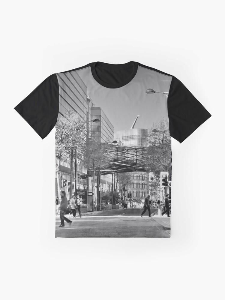 Alternate view of Modern Manchester Graphic T-Shirt