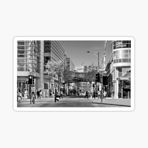 Modern Manchester Sticker