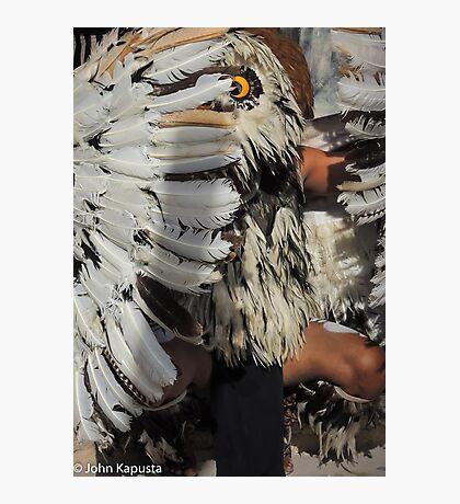 Myan Owl Dancer Photographic Print