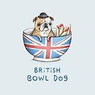 British Bowl Dog by Sophie Corrigan