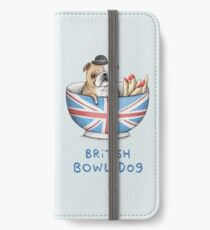 British Bowl Dog iPhone Wallet