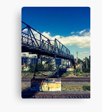 Junction - Over the tracks Canvas Print