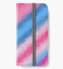 Cotton Candy Soft Rainbow Colors iPhone Wallet/Case/Skin