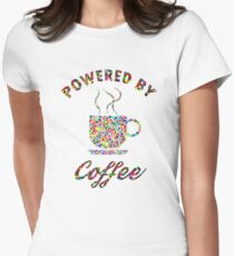 Powered By Colorful Coffee  T-Shirt