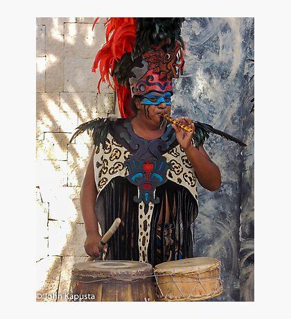 Mayan Performance @ Costa Maya  Photographic Print